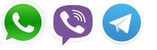 viber telegramm whatapp